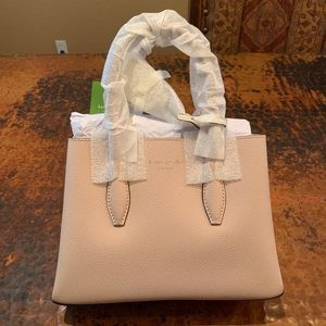 NWT Kate Spade Blush Small Leather Satchel